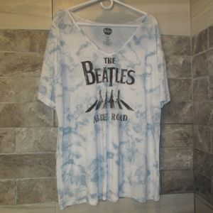 THE BEATLES GRAPHIC ABBY ROAD TEE SZ3X